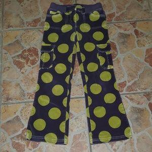 Mini Boden Corduroy Polka Dot Jeans, 9y